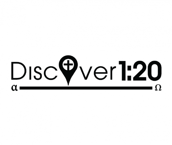 Discover 120 logo in grayscale.