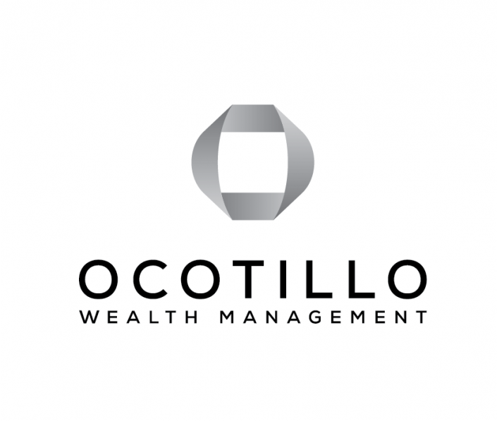 Ocotillow Wealth Management logo in grayscale.